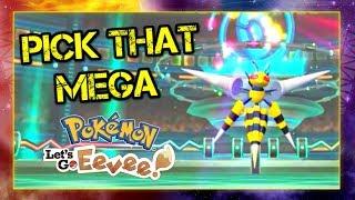 Pokemon Lets Go Pikachu and Eevee Singles Wifi Battle - Pick that Mega!