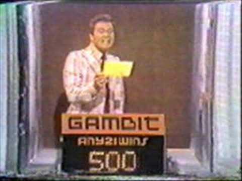 Gambit (CBS) with Wink Martindale & Elaine Stewart