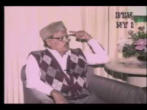 Manna Dey Exclusieve Interview With Bangla Tv New York. video