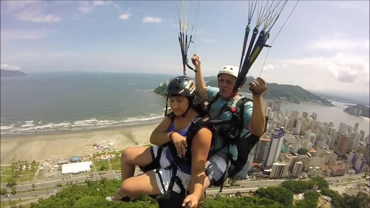 [Ana Júlia Voando de Parapente] Video