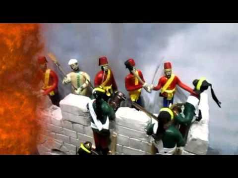 Видео Диорама Взятия крепости Измаил финал