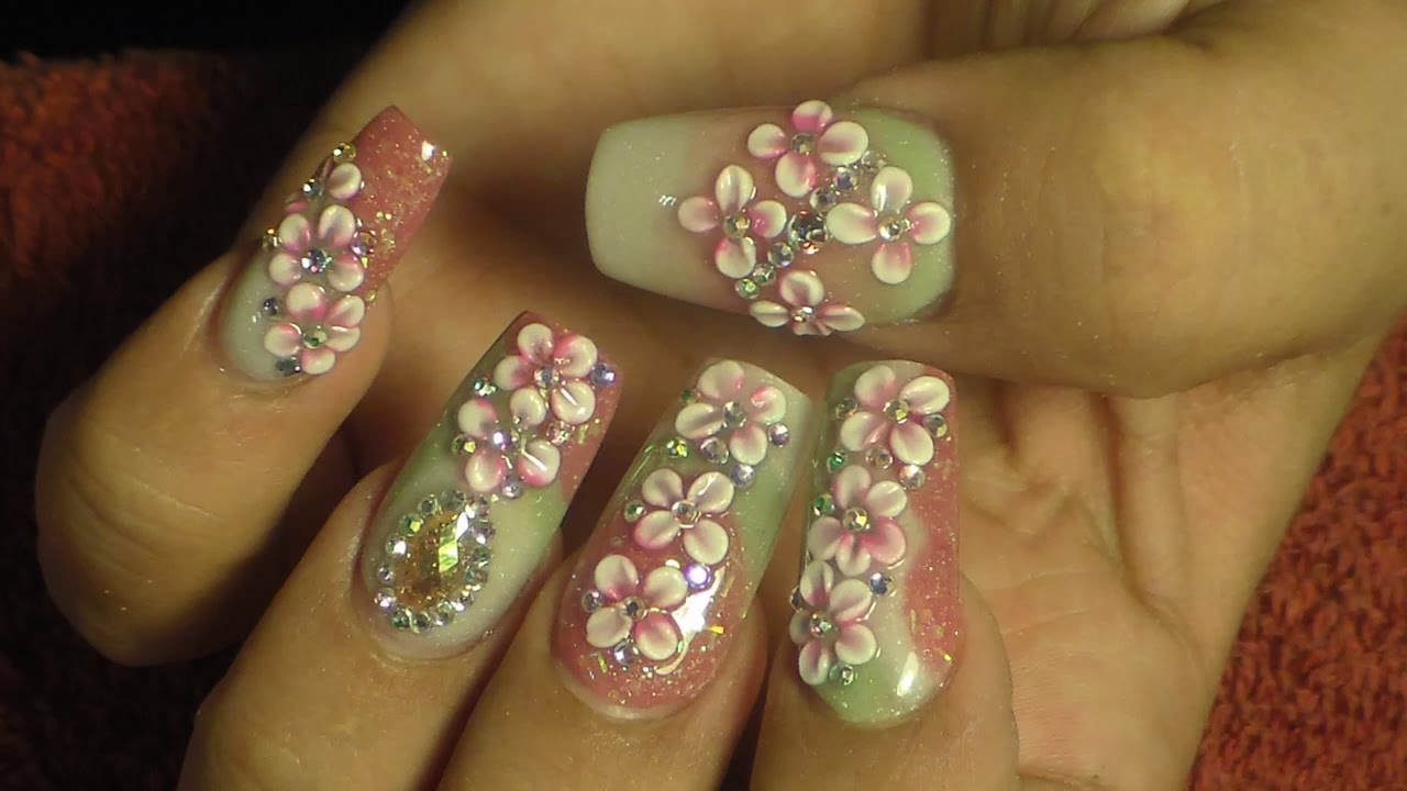 u241as glamurosas estilo sinaloa natos nails youtube