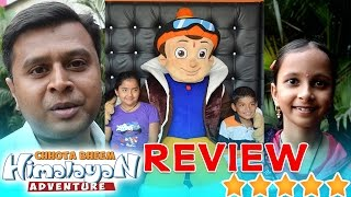 Reviews of Chhota Bheem Himalayan Adventure Movie by Parents and Kids
