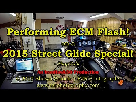 Performing an ECM Flash on a 2015 Street Glide Special!   ShopTalk