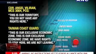 Taiwan coast guard claims owning Batanes