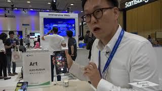 Samsung & Art Rijks Museum at Samsung Developer Conference SDC 2018