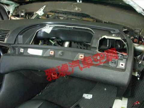 Evaporator core replacement  BMW E46 冷氣維修