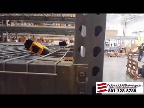 Industrial Size Pallet Rack || NationWide Shelving || 801-328-8788