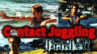 Contact Juggling Tricks 2015 - 1 and 2 balls - Danelo Performances