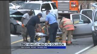 Car Accident on National Road in Wheeling, WV   WTRF 7 News Sports Weather   Wheeling Steubenville