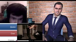 Николай Соболев продает книгу в видеочате