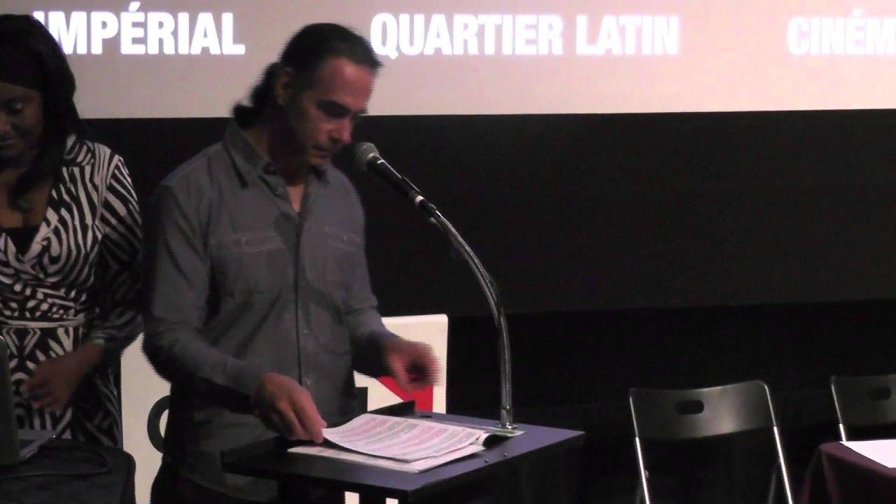 Montreal International Black Film Festival Press Conference