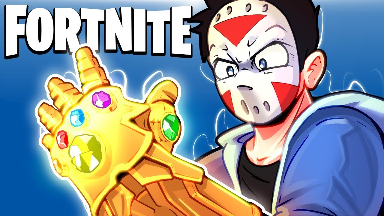 FORTNITE BR - THANOS INVADES THE MAP! (Infinity Gauntlet Gameplay)