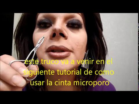 bency como hacer protesis de silicon para la nariz, como ponerselas y como quitarselas