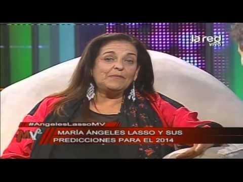 La increíble vida de Ángeles Lasso y sus predicciones para el 2014
