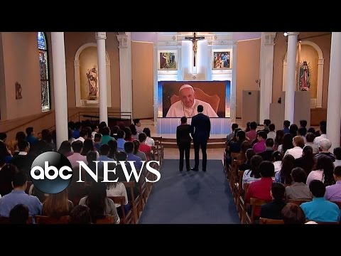 Pope Francis Hears Girl Sing Before His Trip to the United States | David Muir Reporting