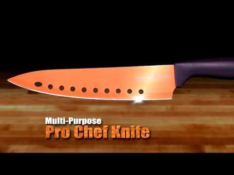 Copper Chef Knives