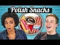 TEENS EAT POLISH SNACKS! | Teens Vs. Food