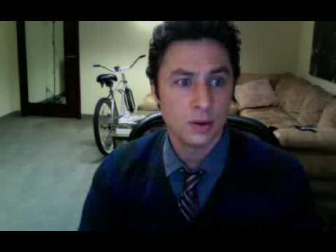 Zach Braff (Scrubs) is NOT DEAD! Evidence here! Video