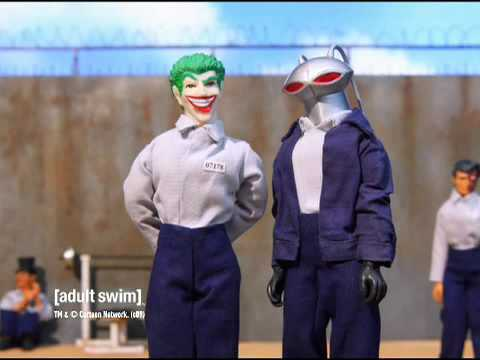 Robot Chicken - Arkhum Asylum Shawshank Redemption [adult swim] Video