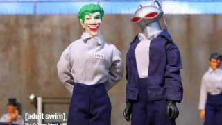 Robot Chicken - Arkhum Asylum Shawshank Redemption [adult swim]