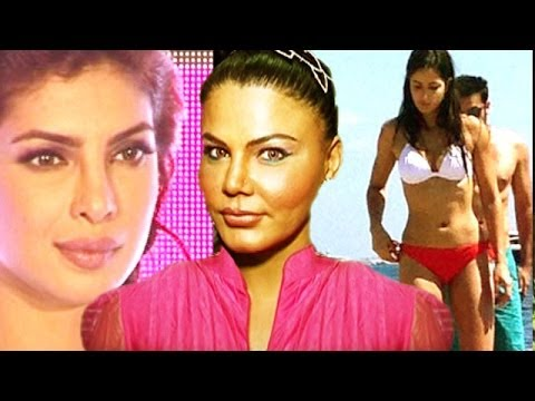 Rakhi Sawant Comments On Katrina Kaif's Bikini Pictures, Priyanka Chopra, Salman Khan & Others video