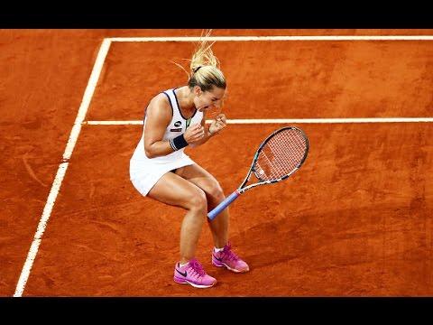 2016 Mutua Madrid Open Semifinal | Dominika Cibulkova vs Louisa Chirico | WTA Highlights