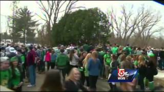 [73 arrested at Massachusetts pre-St. Pat's blowout] Video