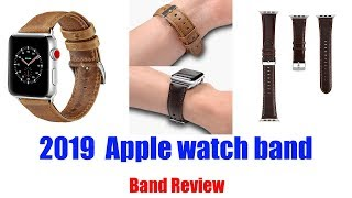 apple watch band Genuine Leather Band Replacement Watch Band 38mm42mm 2