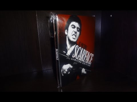 Scarface SteelBook Unboxing (Limited Edition Blu-Ray+1932 DVD)