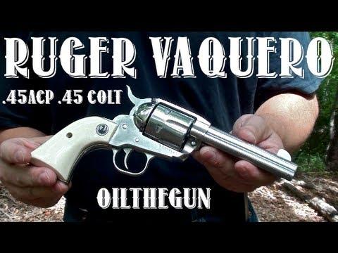 Ruger New Vaquero - 45Colt - 45ACP