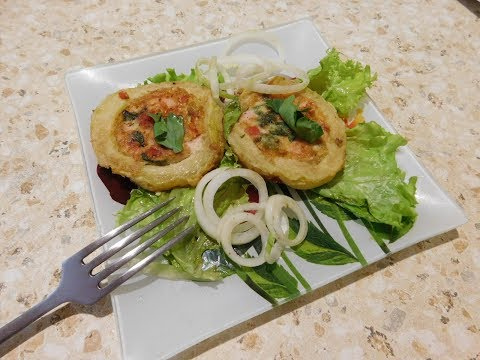 Фаршированный кабачек(вкусно,быстро,красиво)