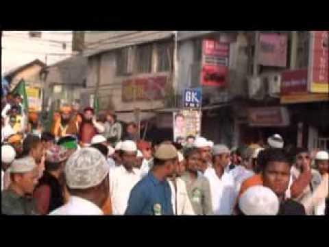 Hzrt Syed Hashmi Miyan, Syed Subhani Miyan, Md Salim Ashrafi In Juluse Mohammadi At Raipur 2014 video