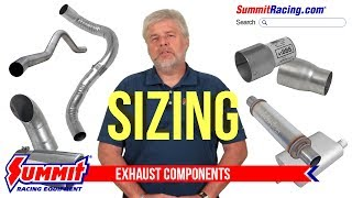 Intro to Exhaust Component Sizing and Fitting