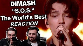 """Dimash - S.O.S. (The World's Best)"" Singers REACTION"