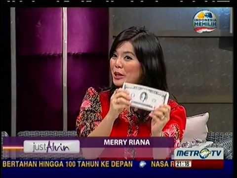 Merry Riana @Just Alvin MetroTV 10 Maret 2013