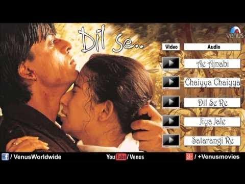 Dil Se Audio Jukebox | Shahrukh khan, Manisha Koirala |