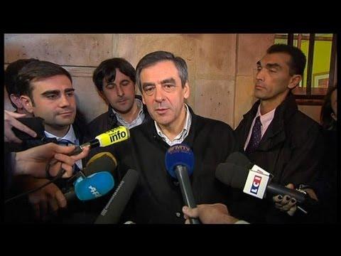 Au sortir du vote, François Fillon se dit