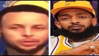 Steph Curry Emotional over Nipsey Hussle Murder