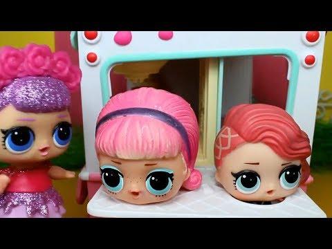 Куклы лол  в Салоне красоты