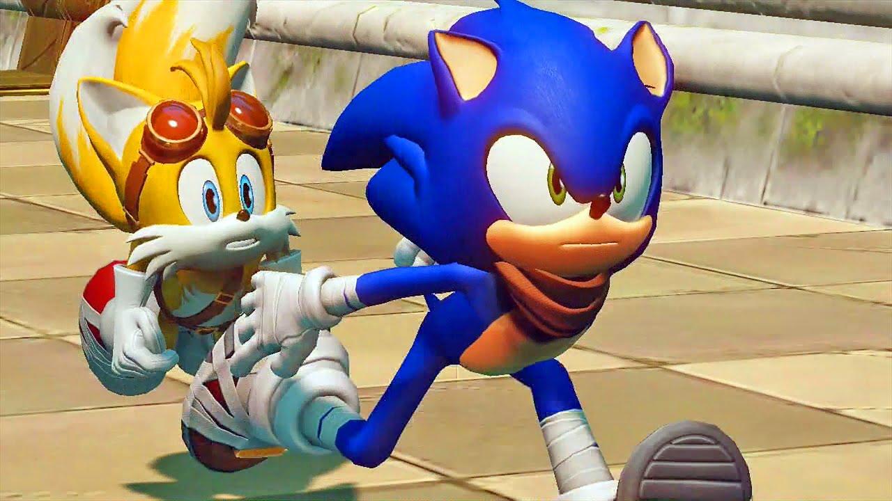 Sonic Boom Rise of Lyric #01: Primeira Gameplay ...