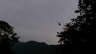 Pizza delivery to Huiungak Shelter at Seoraksan National Park