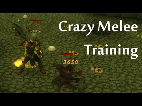 Crazy Melee Training - Dharok's Set Effect in EoC