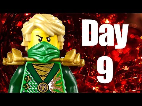 Custom LEGO Ninjago Advent Calendar 2013 Day 9 Review