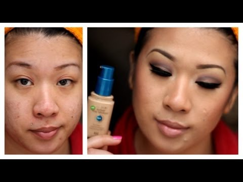 Get Ready With Me: Covergirl Outlast Stay Fab + Green Concealer (Full coverage/acne prone/oily skin)