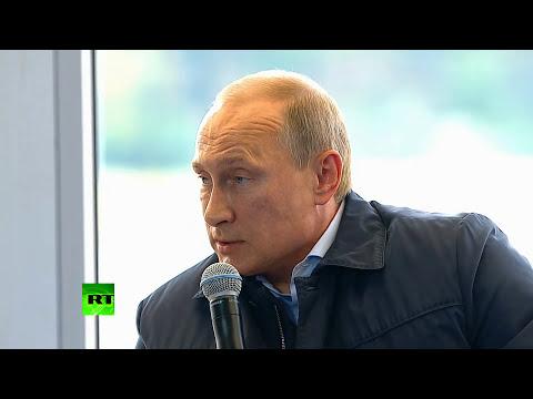 Putin: Kiev's shelling in E.Ukraine reminiscent of WW2 Nazi siege of Leningrad