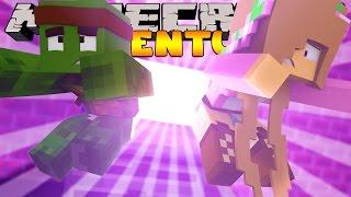 Minecraft Adventure - SUCKED INTO A VIDEO GAME?! w/ LittleKelly