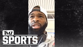 Tyron Woodley Blasts Dana White | TMZ Sports
