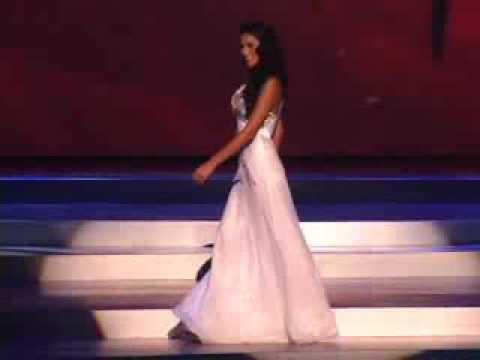 María Teresa Rodríguez -  Miss Universe 2008 - Presentation Evening Gown