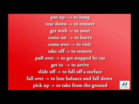 Nauka Angielskiego Przez Piosenki - Phrasal Verbs #17